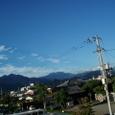 早朝、残暑の石鎚山