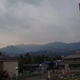 8月早朝 四国山脈の朝