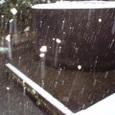 1月20日の大雪 水源地の水は凍っていません。