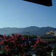 四国山脈の夏!!家からみた笹ヶ峰