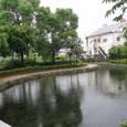 梅雨の駅西公園