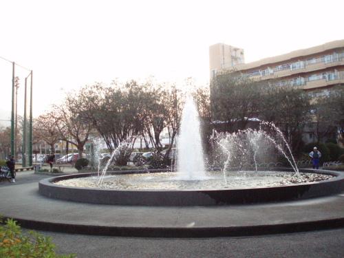 お正月の鷹丸公園