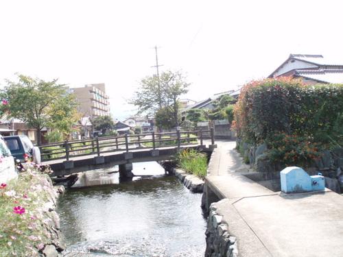 自宅の近くの四国の道