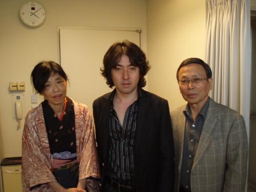 わたしの合唱の恩師 秋川暢宏先生と(雅史さんのお父様)と雅史さんと
