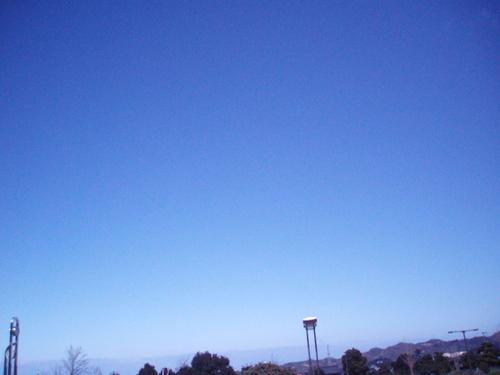 如月の空 光の春